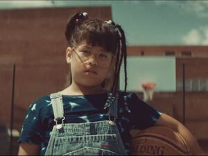 "The young star of Bomba Estéreo's video for ""Soy Yo,"" which the band describes as a ""tribute to little brown girls everywhere."""