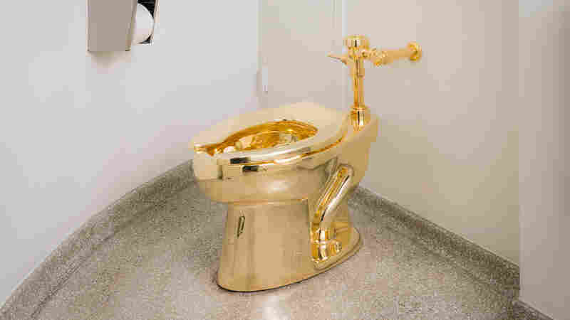 Behold The Throne: There's A Golden Toilet At The Guggenheim