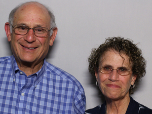 Larry and Eileen Kushner, on a visit with StoryCorps.