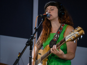 Katie Crutchfield of P.S. Eliot plays live in the WXPN studios.