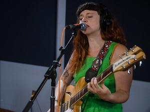 Katie Crutchfield of P.S. Eliot plays live in the WXPN studios.