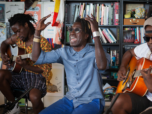 Tiny Desk Concert with Saul Williams.