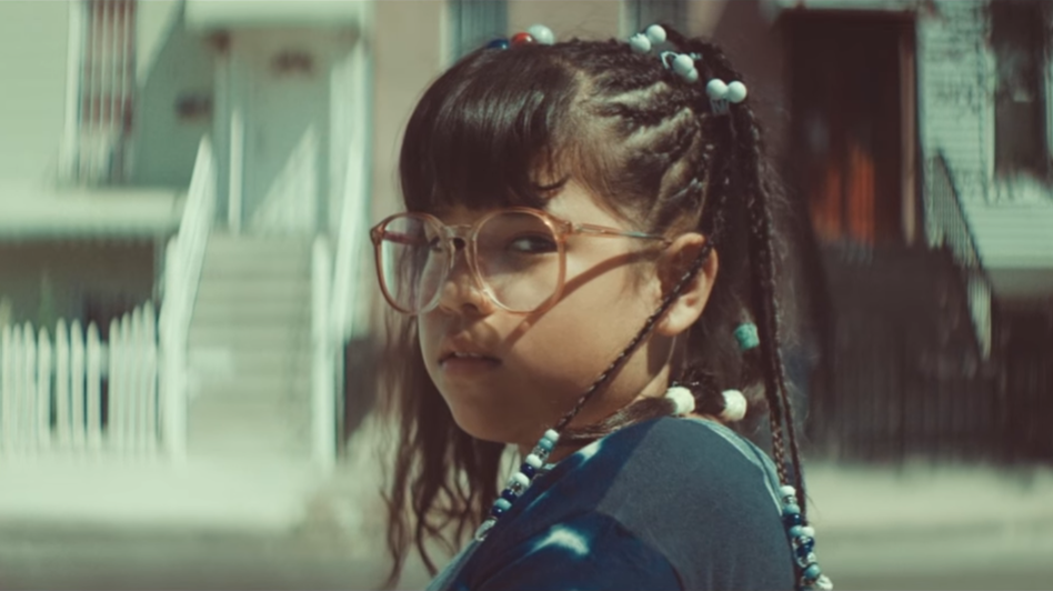 "Sarai Isaura Gonzalez stars in the music video to Bomba Estereo's ""Soy Yo."" (Via YouTube)"