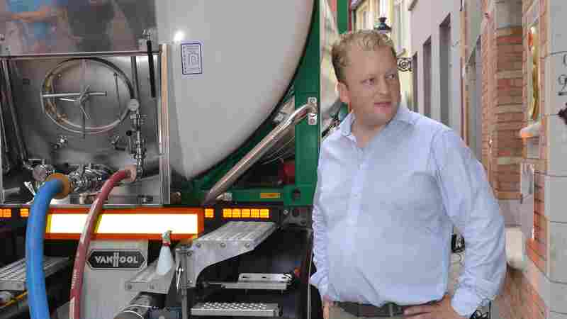 Pipe Dream Becomes High-Tech Transport Line For Historic Belgian Brew