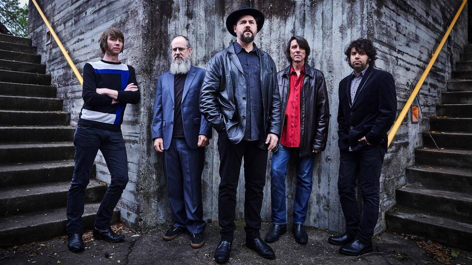 Drive-By Truckers' new album, American Band, comes out Sept. 30. (Courtesy of the artist.)