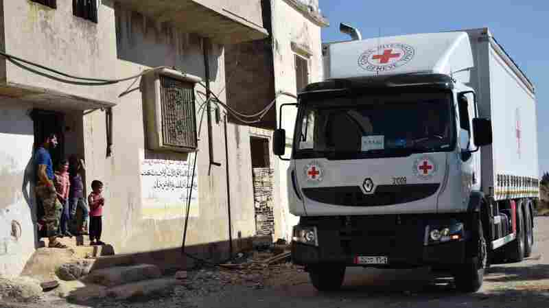 Syrian Military Declares End To Cease-Fire; Aid Convoy Comes Under Attack