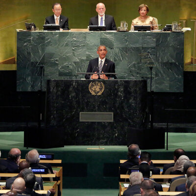 At U.N., Obama Defends His Foreign Policy: 'We Have Been A Force For Good'