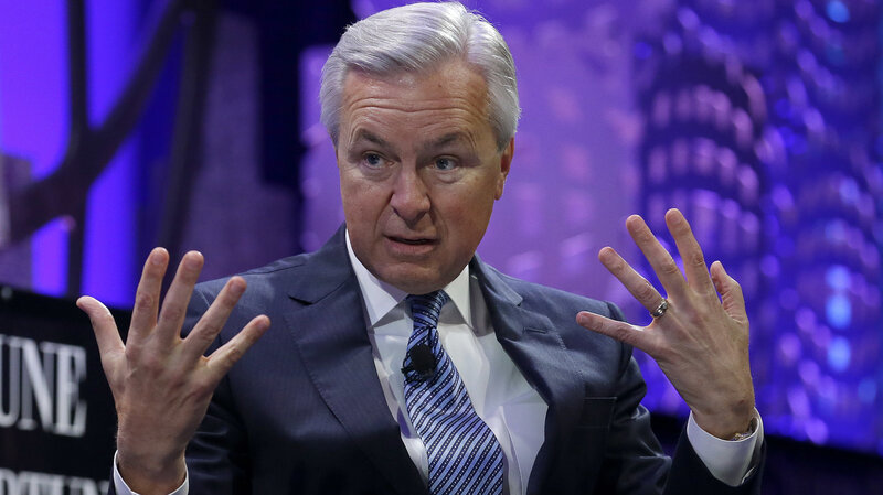 Wells Fargo CEO Discusses Secret-Accounts Scandal In Senate