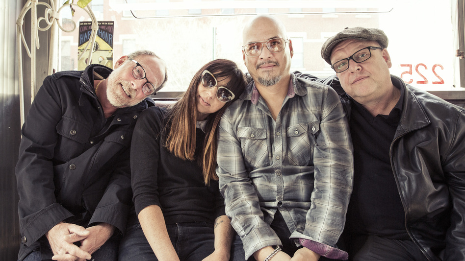 Pixies new album, Head Carrier, comes out Sept. 30. (Courtesy of the artist.)