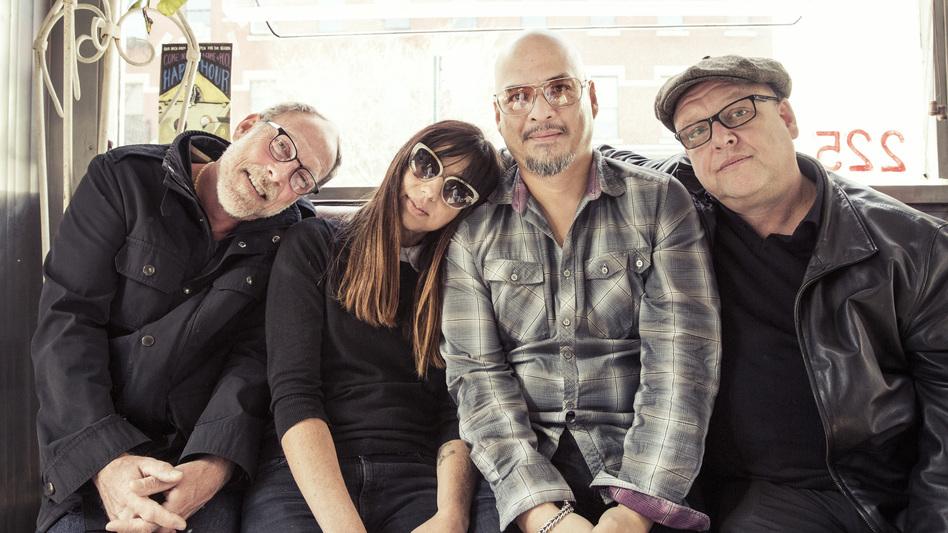 Pixies new album, <em>Head Carrier, </em>comes out Sept. 30.