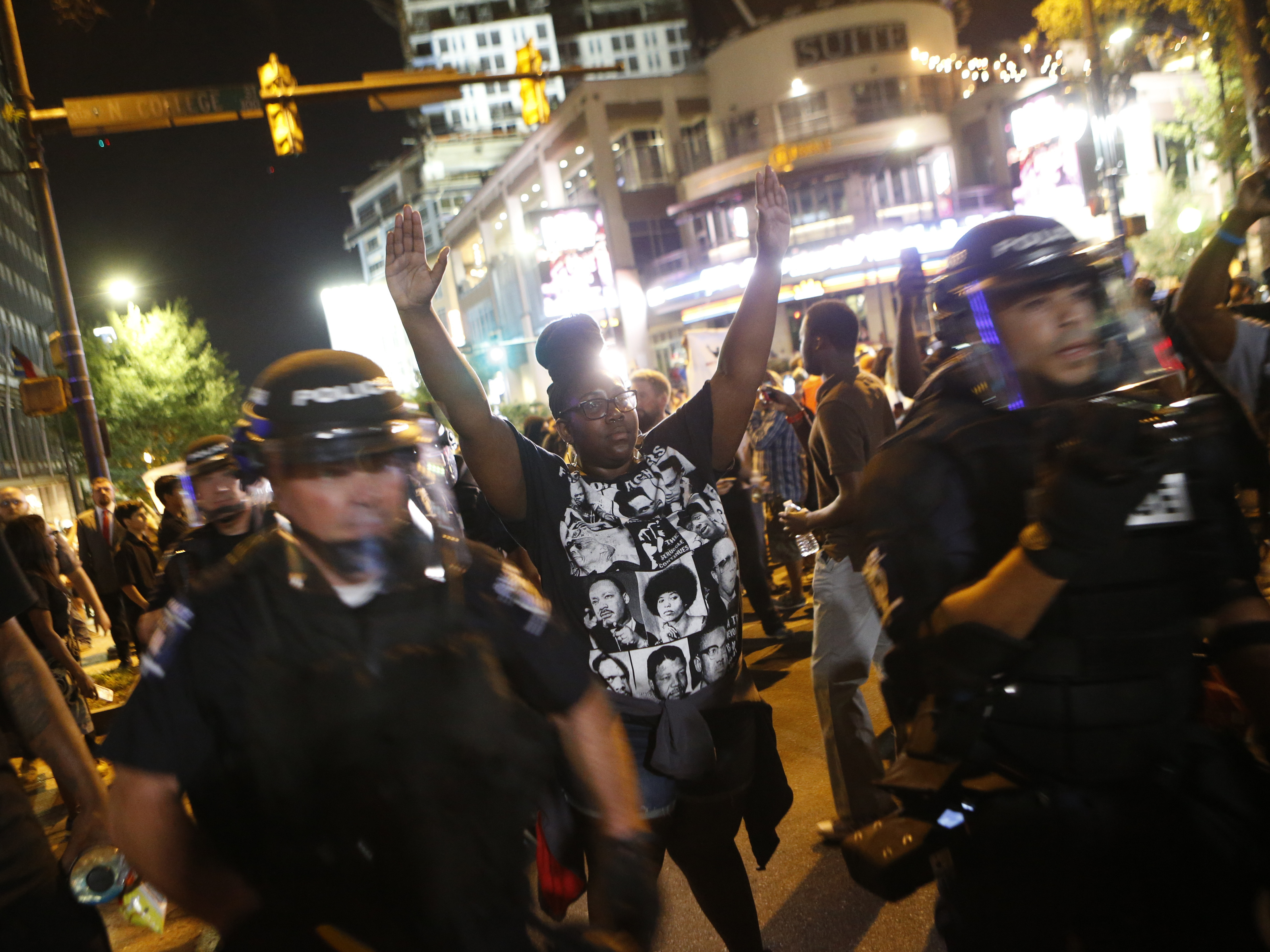 Charlotte protests: State of emergency declared after violent clashes