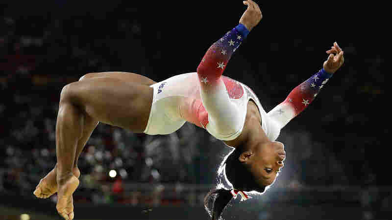 How A 'Sixth Sense' Helps Simone Biles Fly, And The Rest Of Us Walk
