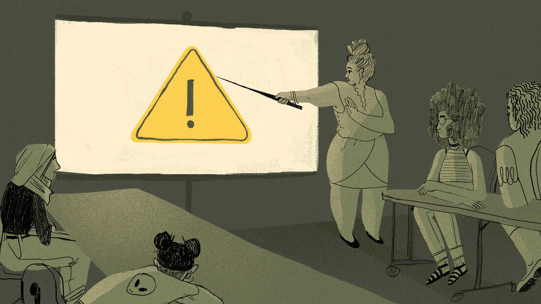 """With the start of a new school year, there's been a nationwide debate on the use of """"trigger warning"""" advisories in college classrooms."""