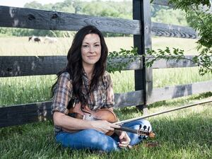 "Amanda Shires' new song ""The Way It Dimmed"" is Folk Alley's pick for September's mix."