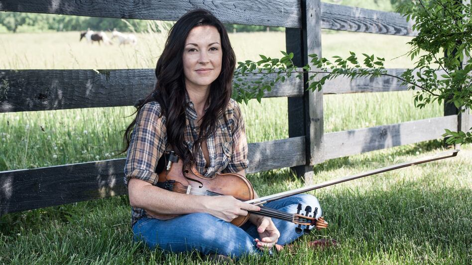 "Amanda Shires' new song ""The Way It Dimmed"" is Folk Alley's pick for September's mix. (Courtesy of the artist)"