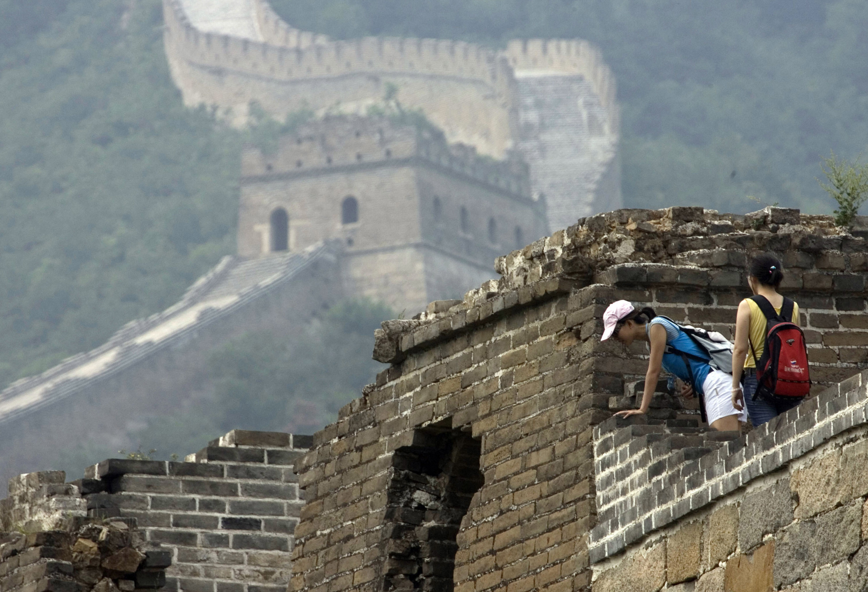 Chinese officials criticised over 'ugly' Great Wall repairs