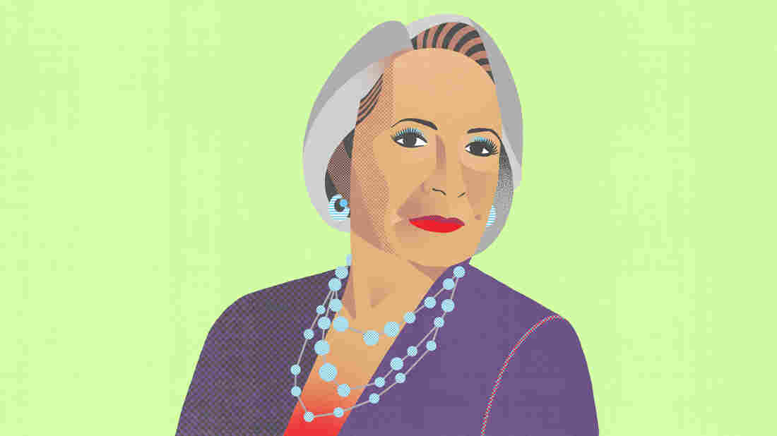 Radio One founder Cathy Hughes. She is the second richest African-American woman in the country.