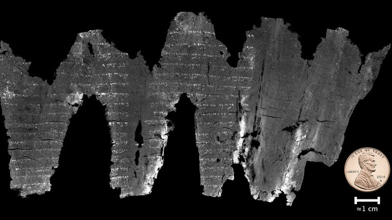Computer Scientists Solve Mystery Of The Ein Gedi Scroll By