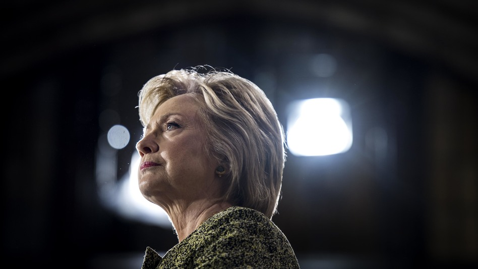 Hillary Clinton speaks to and meets voters at Temple University in Philadelphia on September 19. (Melina Mara/The Washington Post/Getty Images)