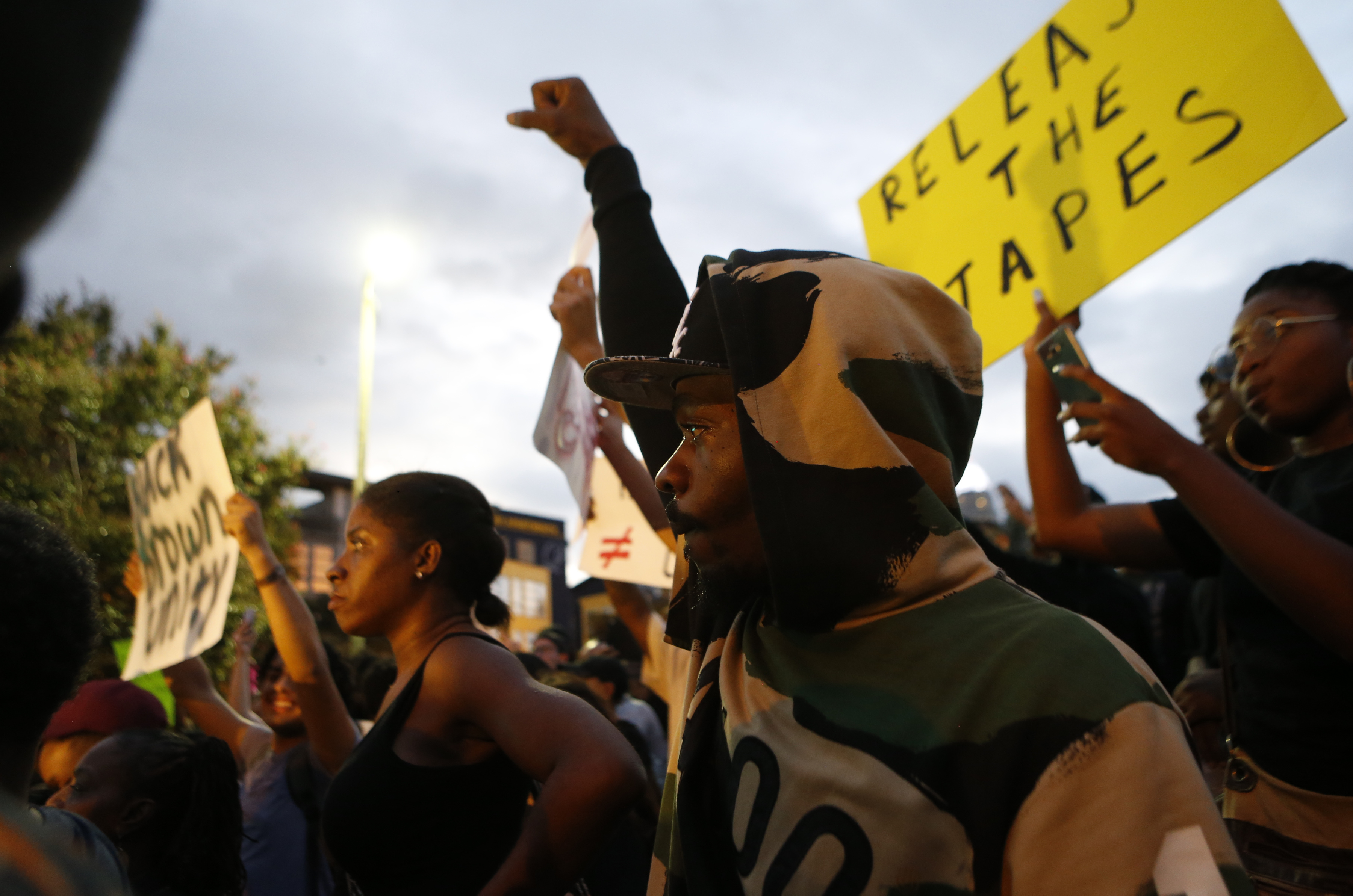 2 Stories, Many Cameras: Protesters Demand Video Of Charlotte Shooting