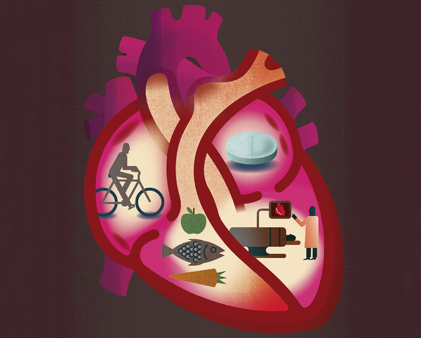 Changing habits and better health care have vastly reduced the risk of death by heart disease.