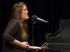 Rachael Yamagata performs on Mountain Stage.