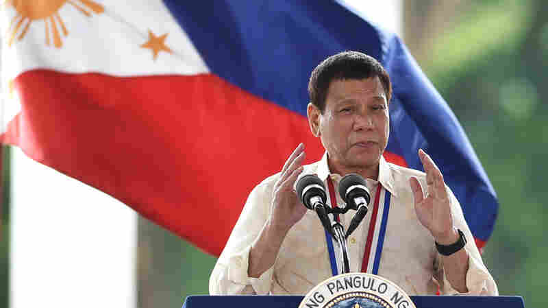 Criticized Abroad, Philippines' Leader Remains Hugely Popular In Home City