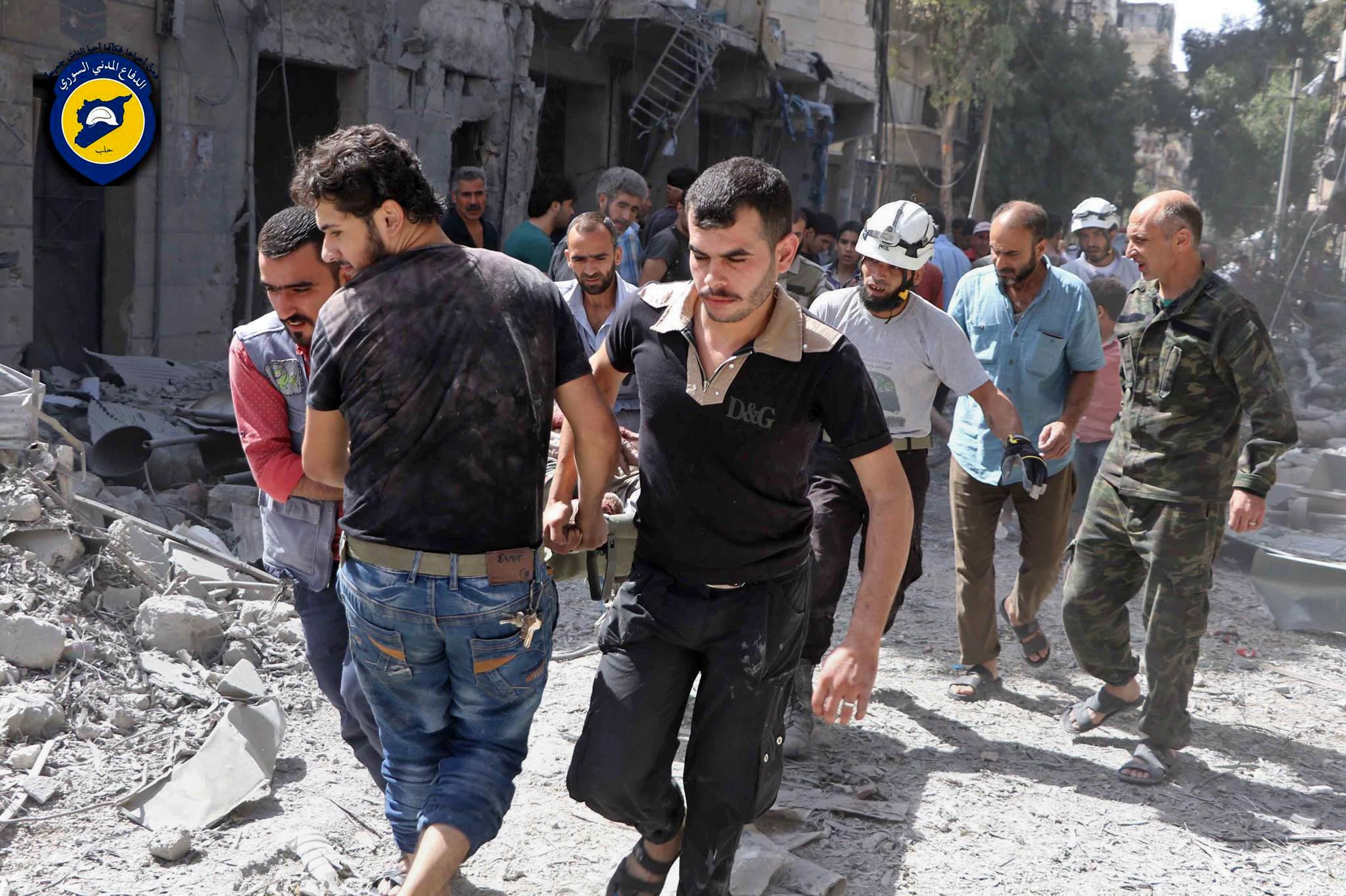 Warplanes mount new strikes on rebel-held Aleppo