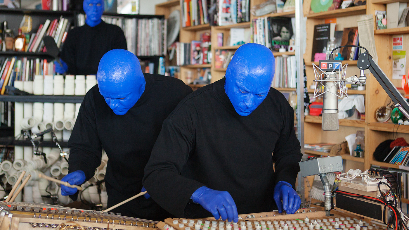 National Business Group On Health >> Blue Man Group: Tiny Desk Concert : NPR