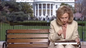 WATCH: 20 Years Before 'Two Ferns,' Hillary Clinton Played Forrest Gump