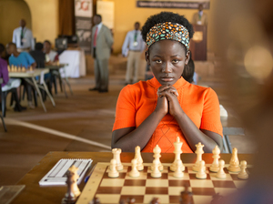 "Queen of Katwe was filmed in English, but that isn't Madina Nalwanga's first language. ""She worked extremely hard,"" co-star Lupita Nyong'o says, ""and I think her discipline as a dancer came in very handy."""