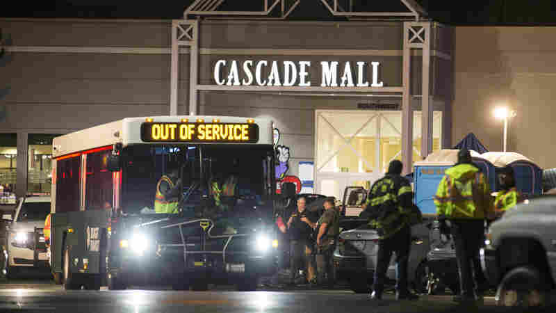 5 Killed In Shooting At A Washington State Mall; Manhunt Underway