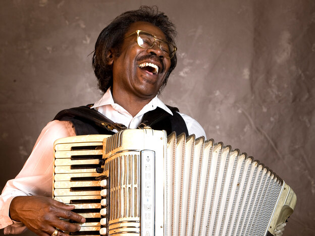 """Stanley """"Buckwheat"""" Dural Jr. of Buckwheat Zydeco died Saturday morning from lung cancer. He was 68."""
