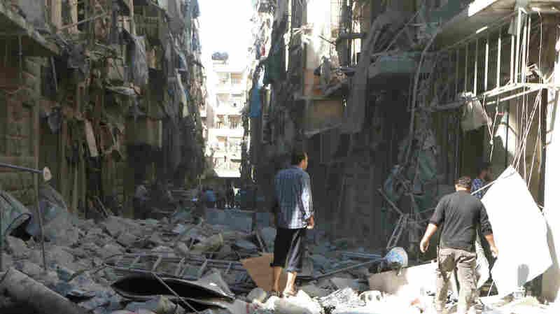 Aleppo Under The Most Intense Air Bombardment Since Syrian War Began, U.N. Says