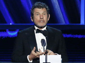 Rolling Stone founder Jann Wenner speaks during the Rock and Roll Hall of Fame Induction Ceremony in April 2013.