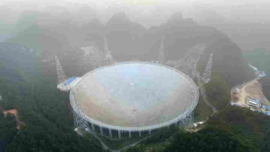 China Completes Largest Radio Telescope In The World