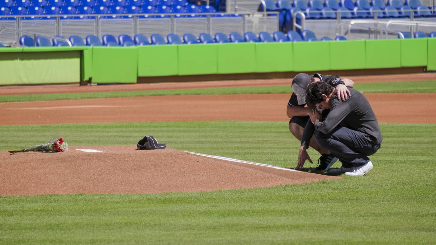 baseball npr all ns are saddened by this loss fans react to death of marlins