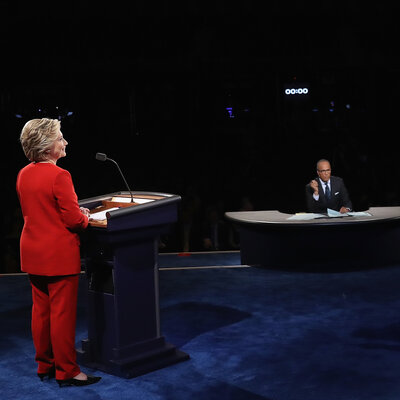 Clinton And Trump Clash In Tense First Presidential Debate