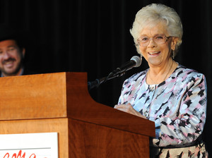 """As you know, there wasn't none of us. But ... I hung in there like a hair on a grilled cheese,"" Jean Shepard said when she was inducted to the Country Music Hall of Fame in 2011."