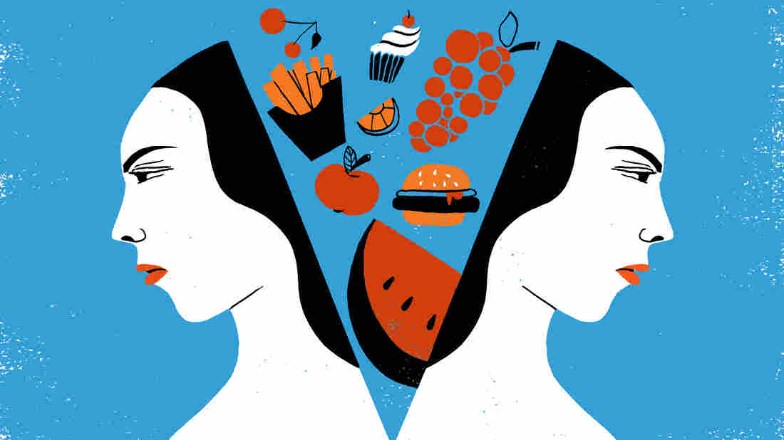 A new study suggests stress can diminish the benefits of healthier food choices.
