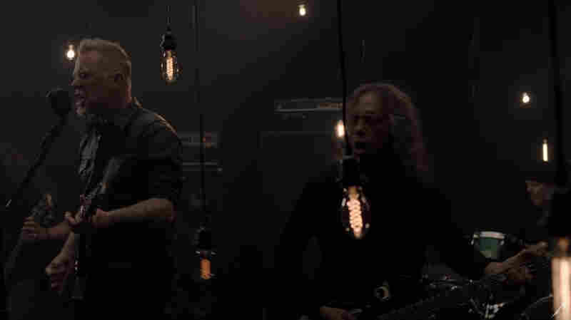 Video: Metallica's Rejuvenated On 'Moth Into Flame'