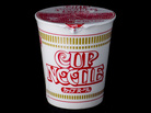 """Cup Noodles — sold in Japan as Cup Noodle (no """"s"""")."""