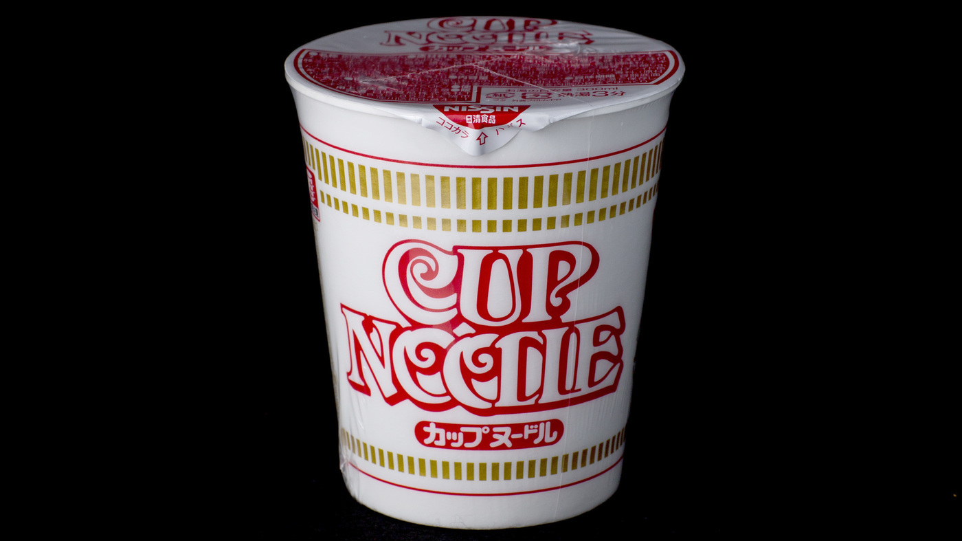 Top Ramen Cup : Cup noodles turns a closer look at the revolutionary