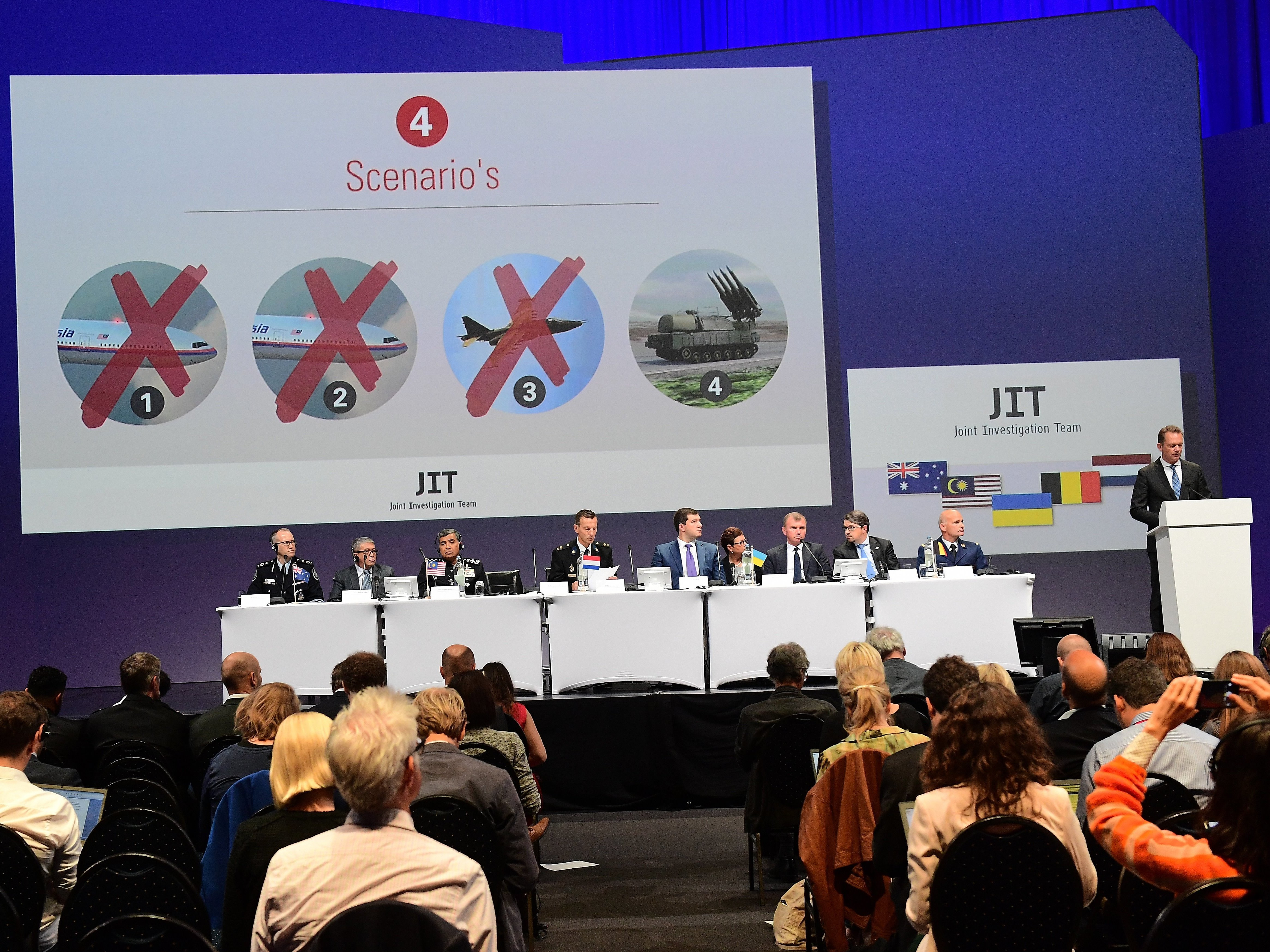 Russia calls probe into MH17 downing 'biased'