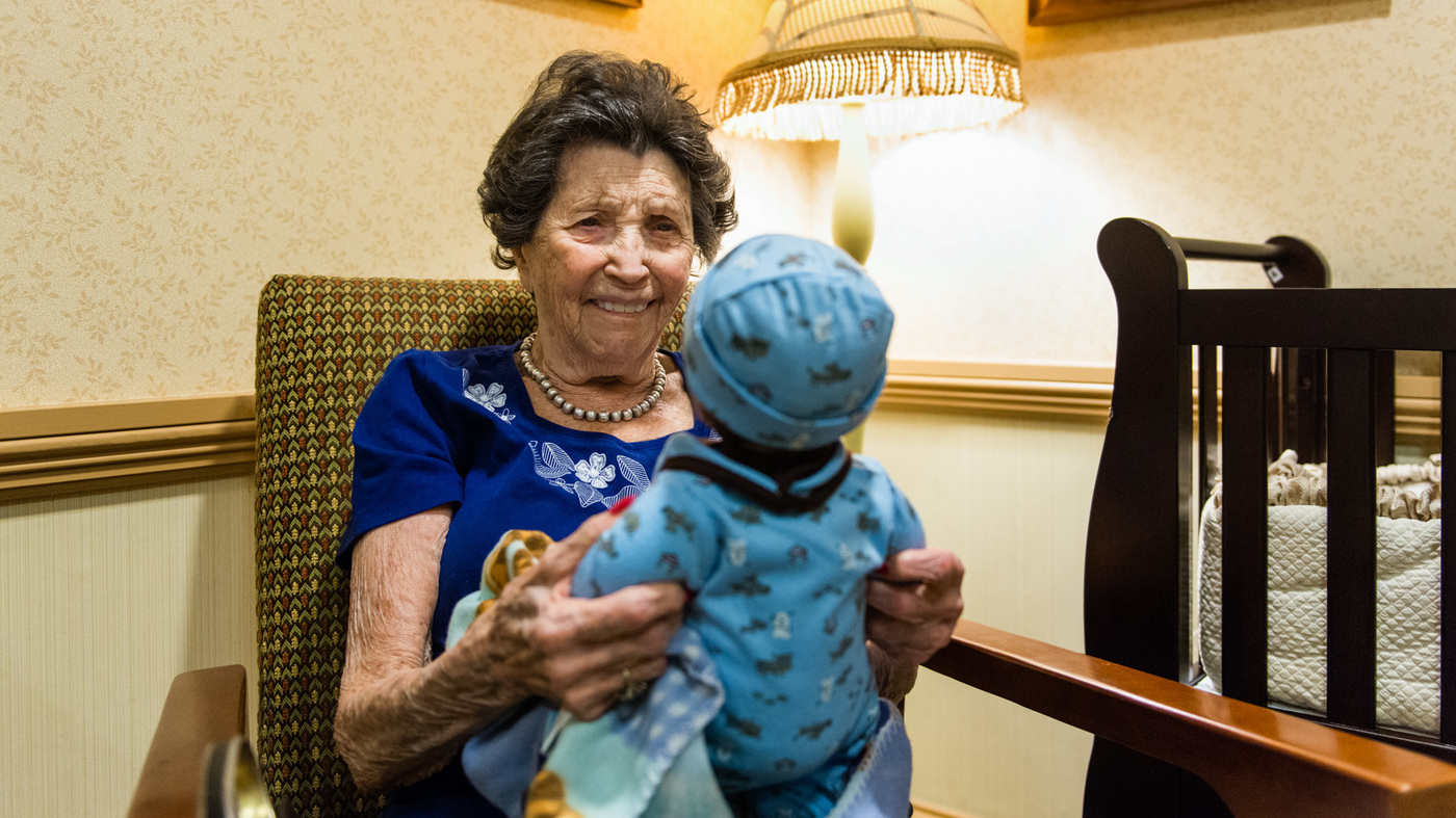 Doll Therapy For Alzheimer S Calming Or Condescending