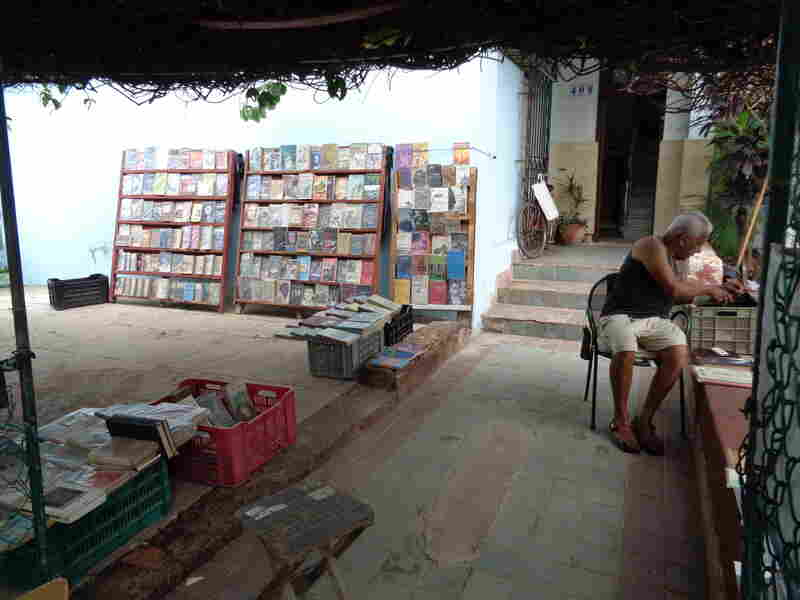 Even the smallest neighborhood bookseller can count on a very educated and well-read Cuban populace.