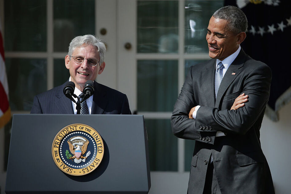 President Obama nominated Judge Merrick Garland to the Supreme Court in March. Since then, the Senate has denied him a confirmation hearing. Whoever wins the presidential election will have a big impact on the future of the highest court in the land. (Chip Somodevilla/Getty Images)