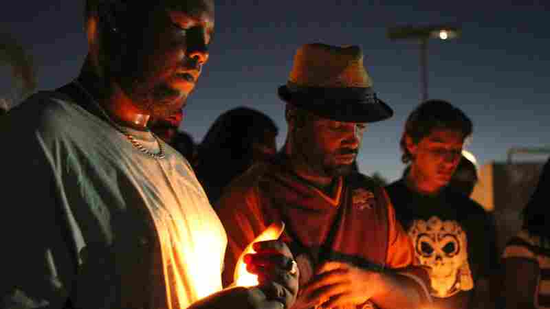 'This Is A Life': Hundreds Protest Shooting Of Unarmed Man In El Cajon