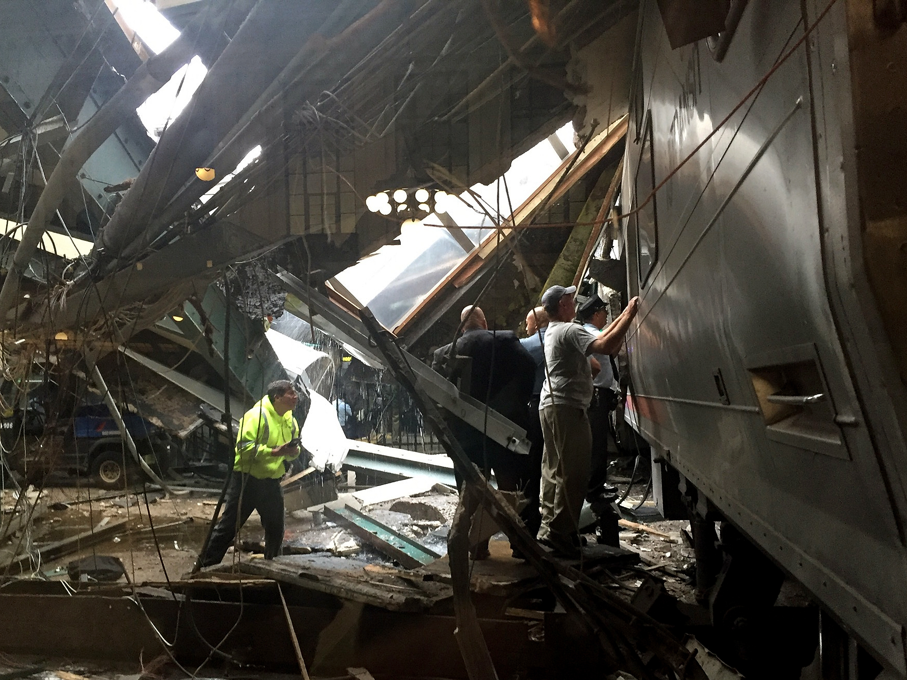 'It Was Going Full, Full Force': Train Crashes Into Hoboken Terminal, Killing 1
