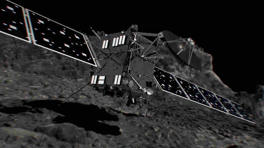 Scientists To Bid A Bittersweet Farewell To Rosetta, The Comet Chaser